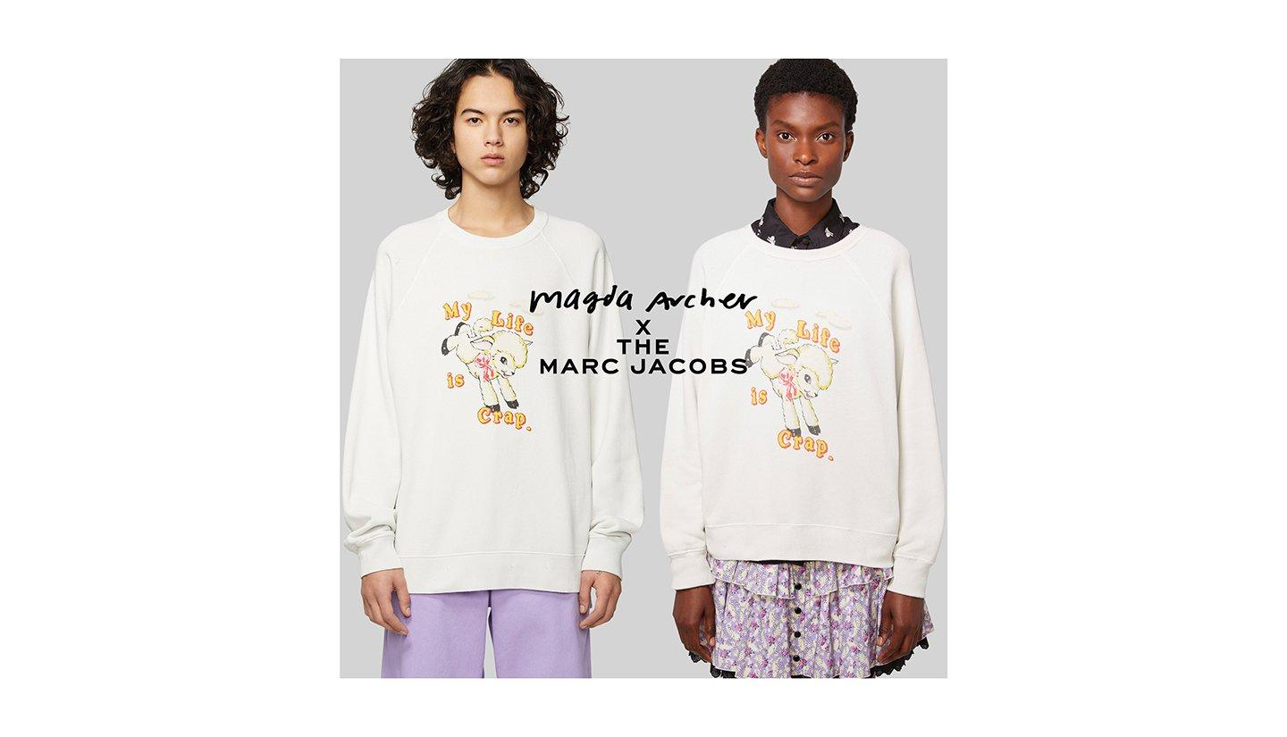 Magda Archer X Marc Jacobs.