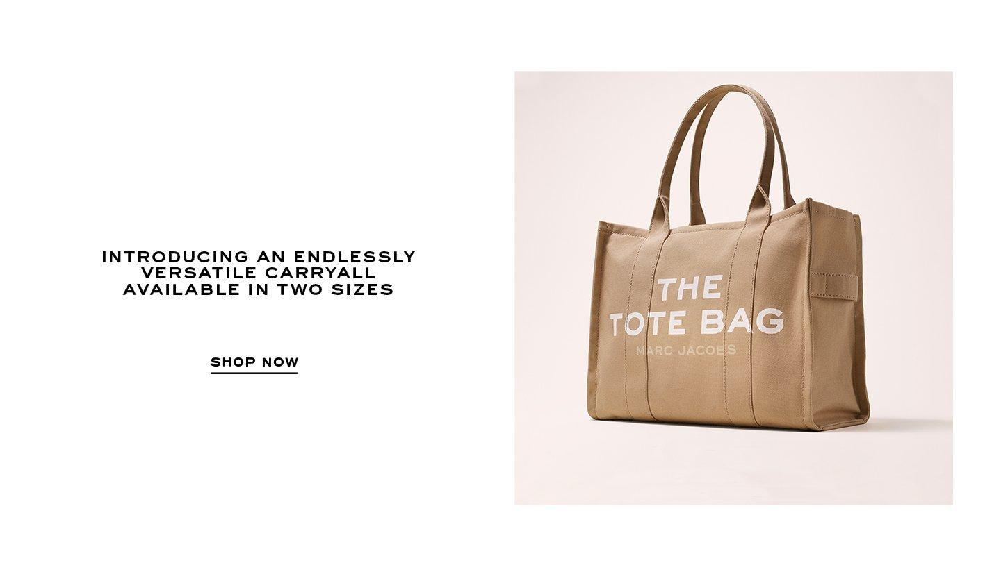 Introducing an endlessly versatile carryall available in two sizes. Shop Now.