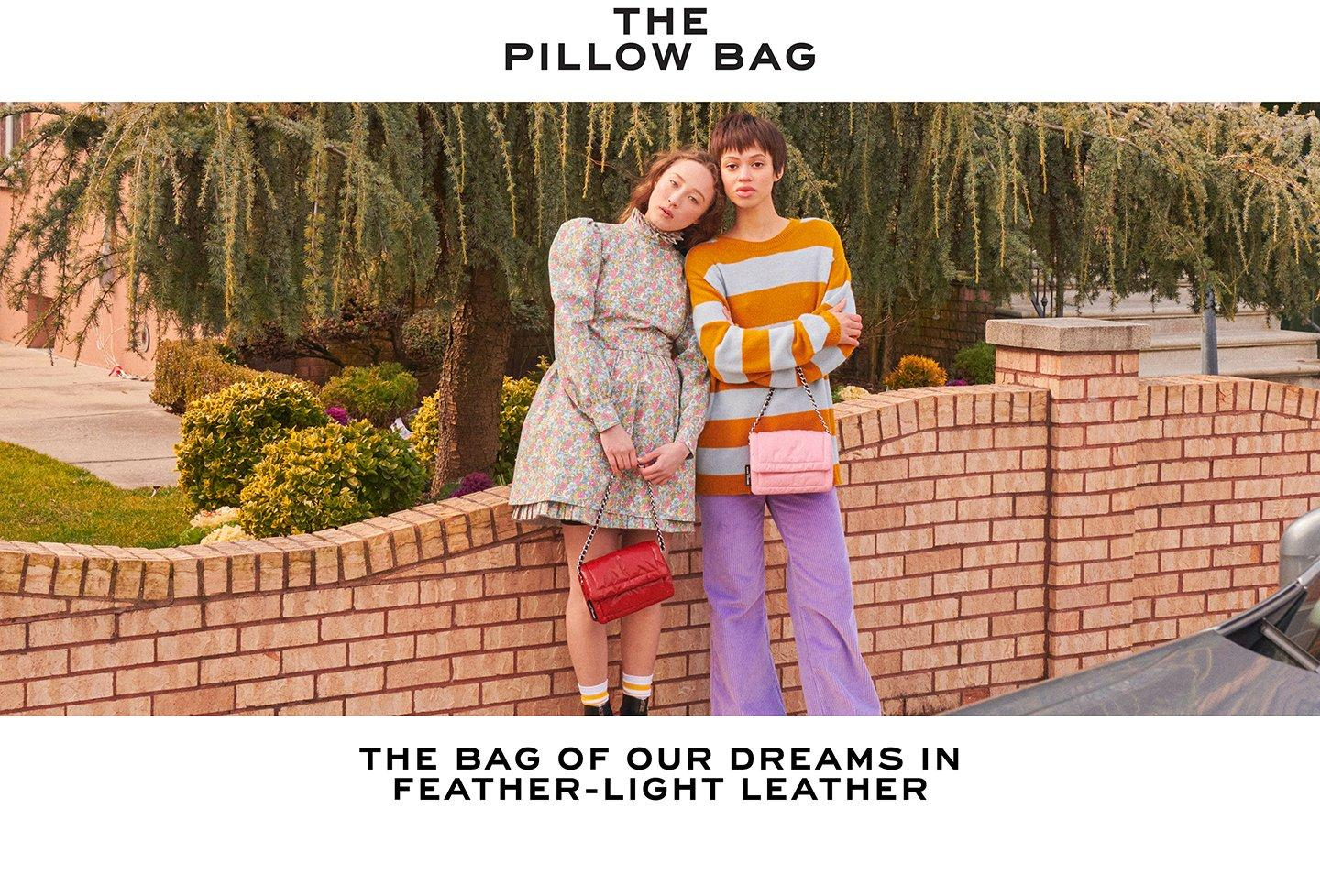 The Pillow Bag. The bag of our dreams in feather-light leather