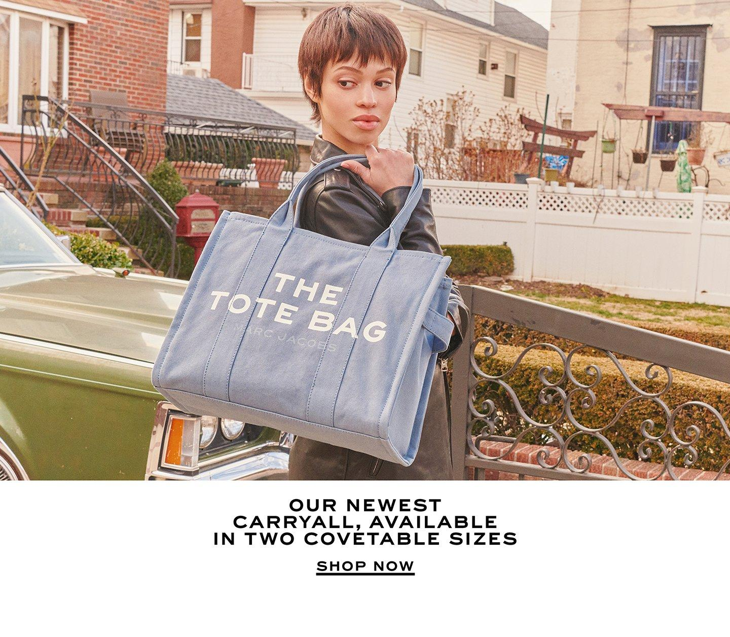 Our newest carryall, available in in two covetable sizes. Shop Now.