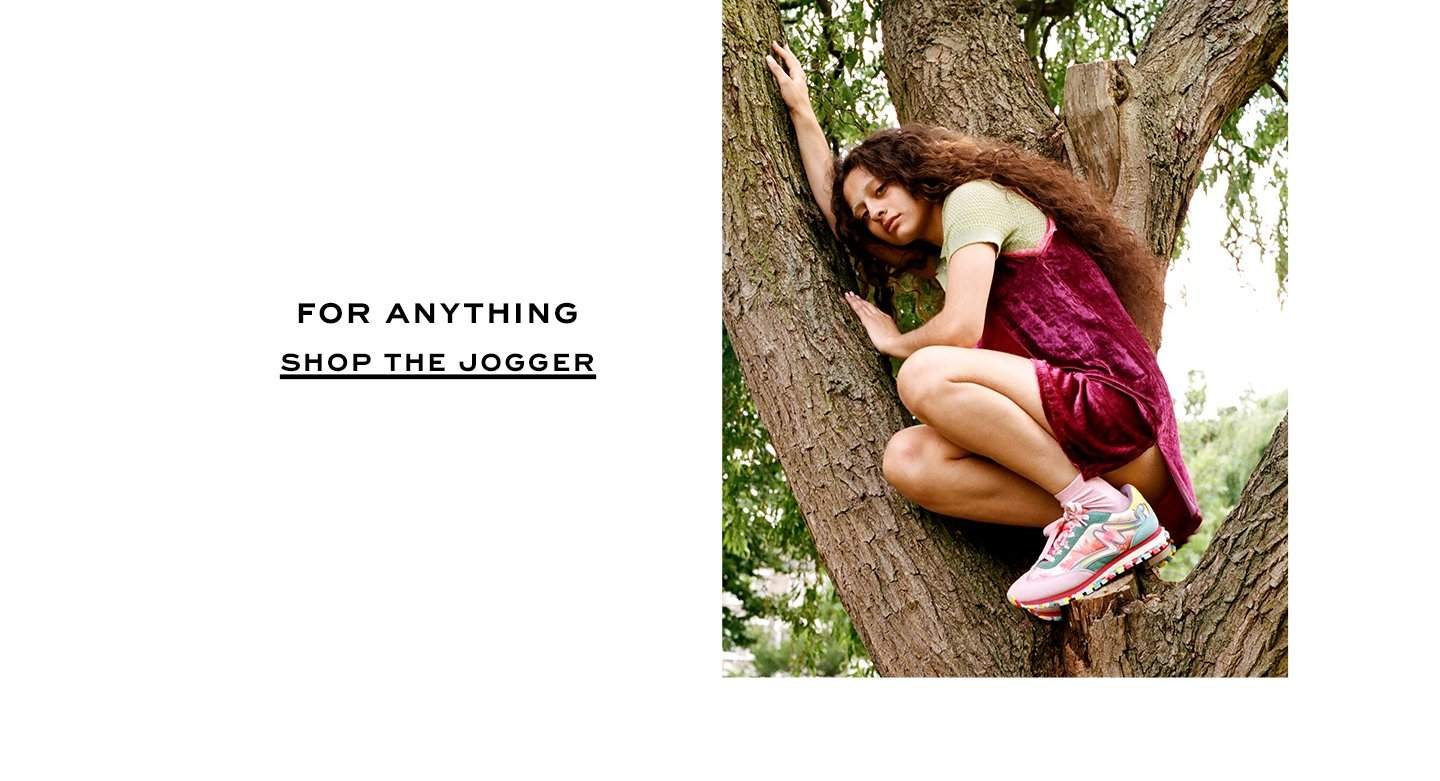 For anything. Shop the Jogger.