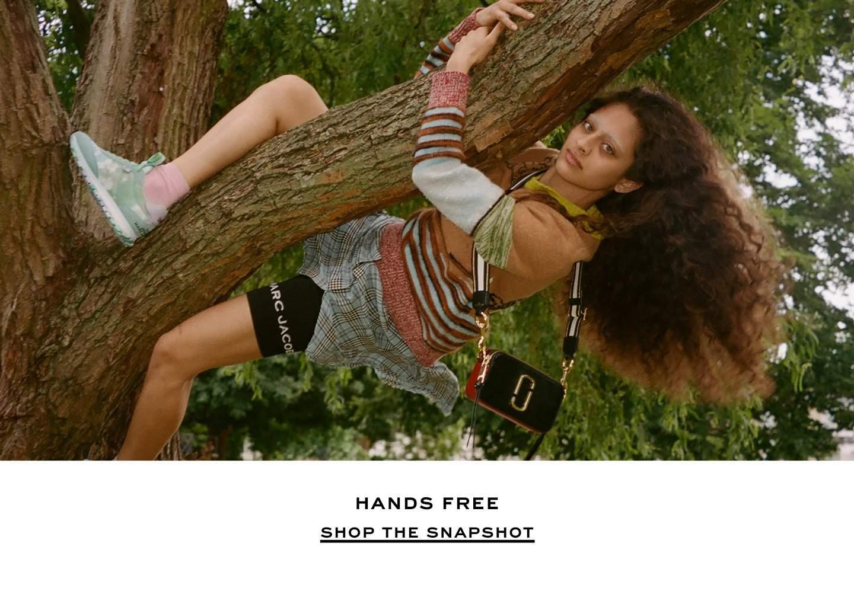Hands free. Shop The Snapshot.