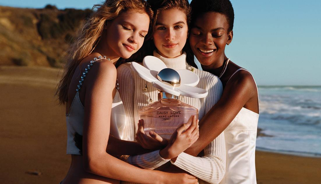 Marc Jacobs - Daisy Love With Models
