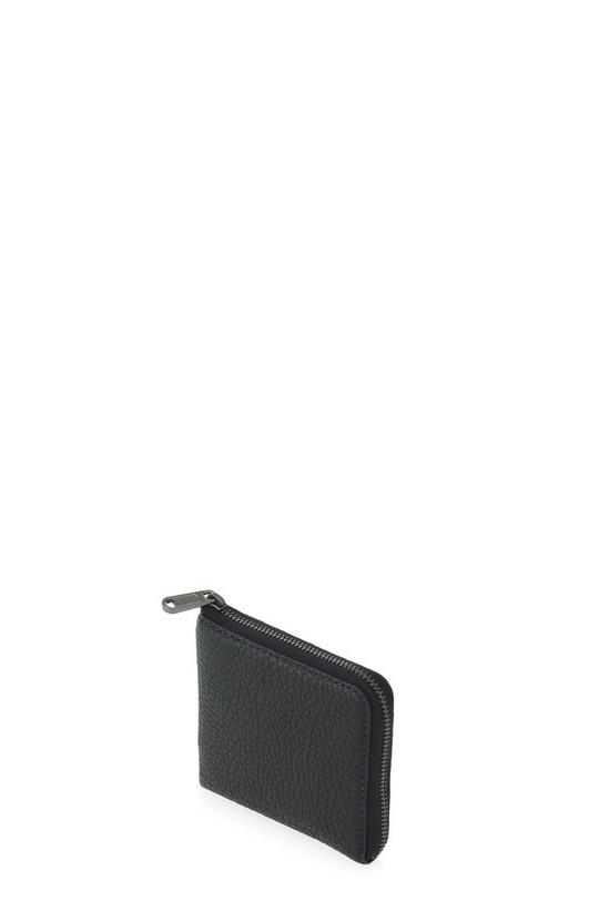 Classic Leather Half Zip Card Holder