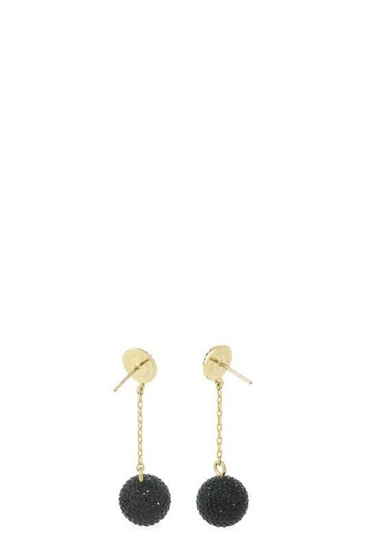 Pavé Ball Earrings