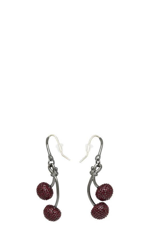Pavé Cherry Earrings