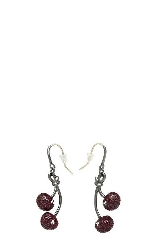 Pavé Cherry Earrings