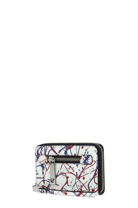 Splatter Paint Zip Phone Wristlet