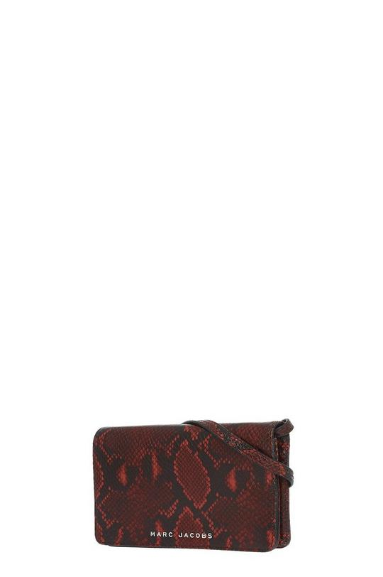 Snake Wallet With Leather Strap