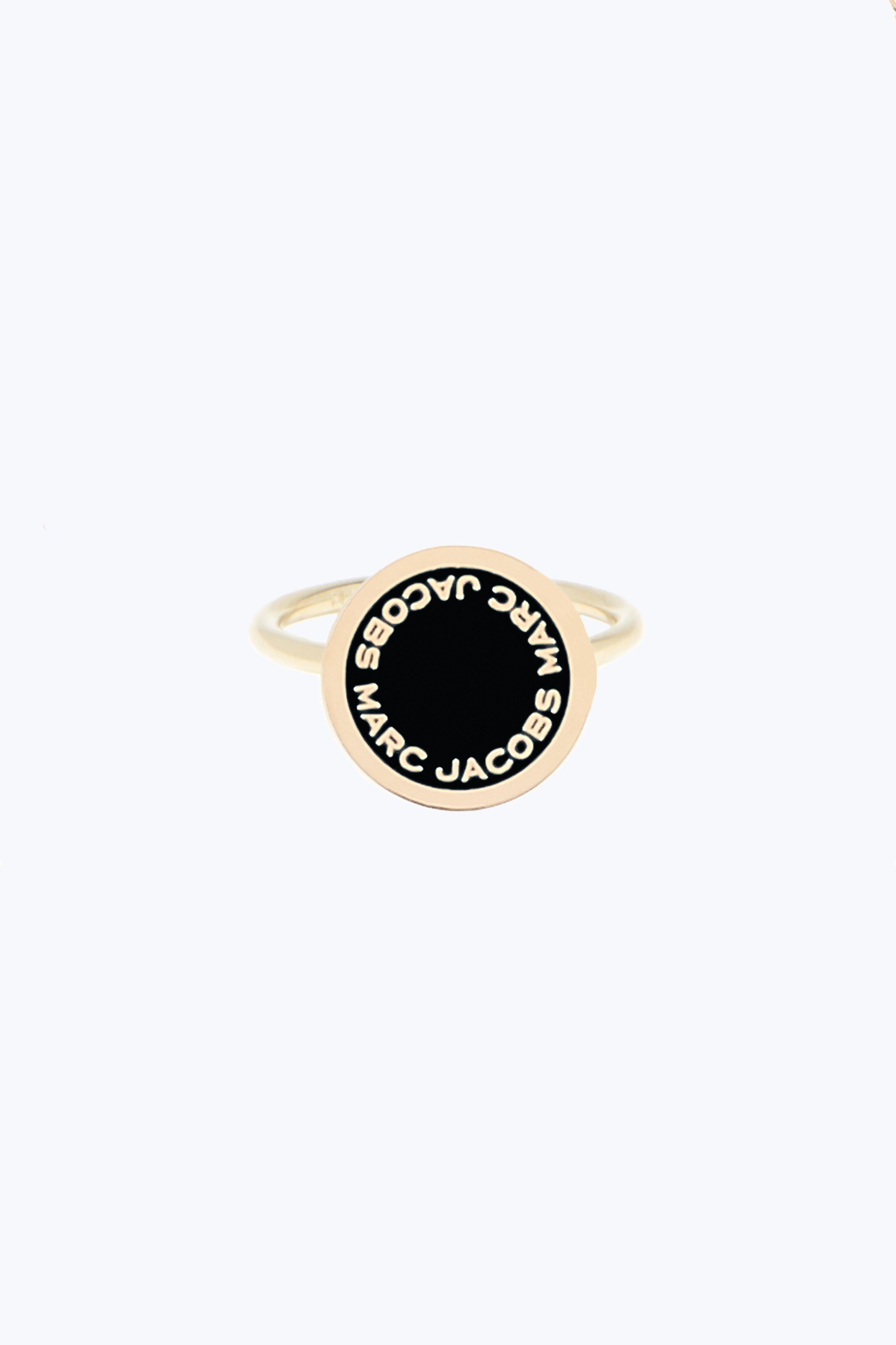 Enamel Logo Disc Ring