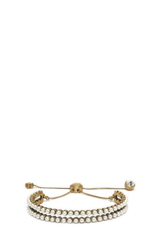 Pearl Dots Friendship Bracelet