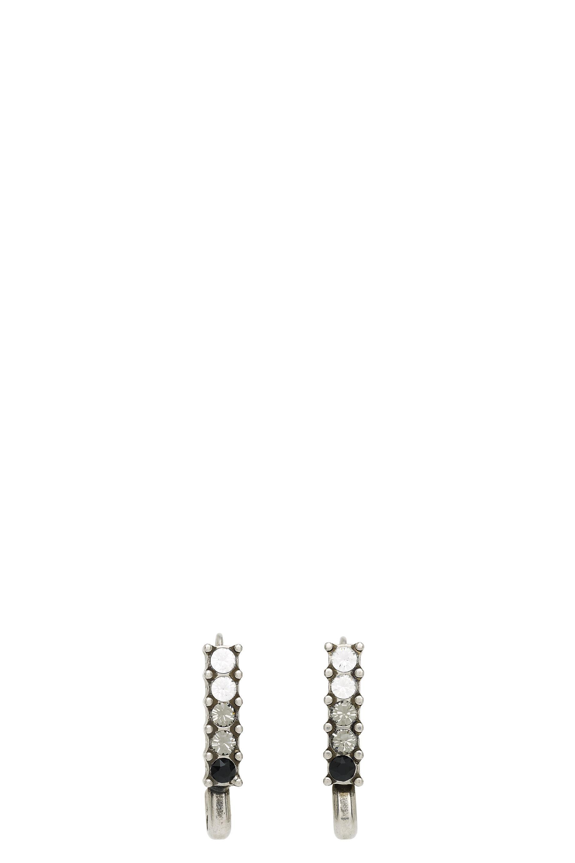 Marc Jacobs Earrings Safety Pin Crystal Earrings