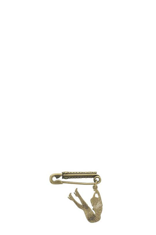 Safety Pin Up Brooch