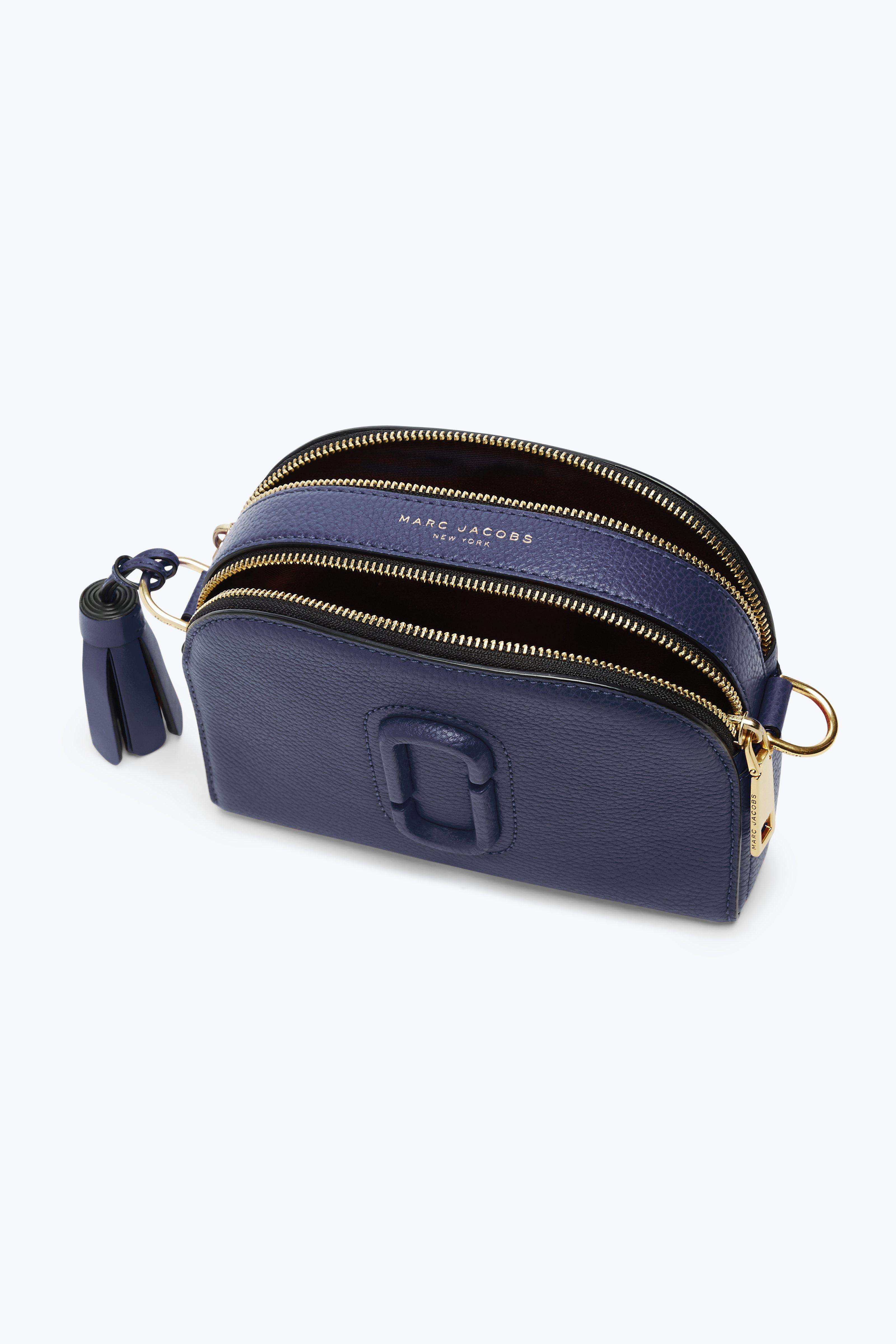 Marc Jacobs Blue Small Shutter Camera Bag Midnight Blue