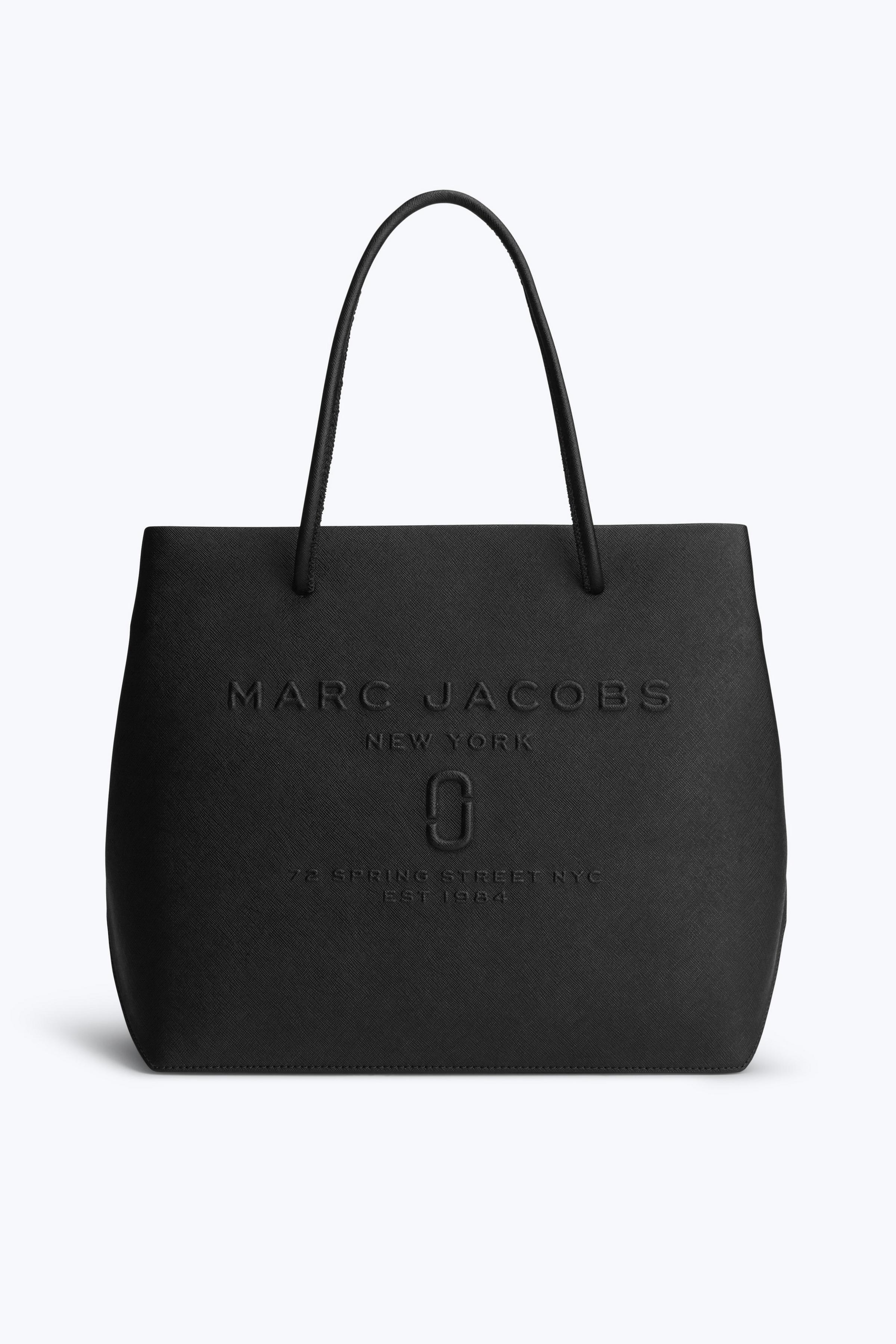 Marc Jacobs De Sac Shopper Logo En Cuir De Vache Fendu Le Poivron Rouge W0phZtEC