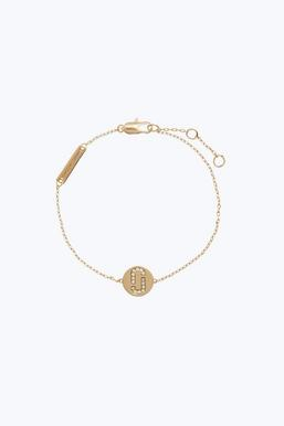 Marc Jacobs Bracelet for Women, Baby Pink, Rope, 2017, One Size