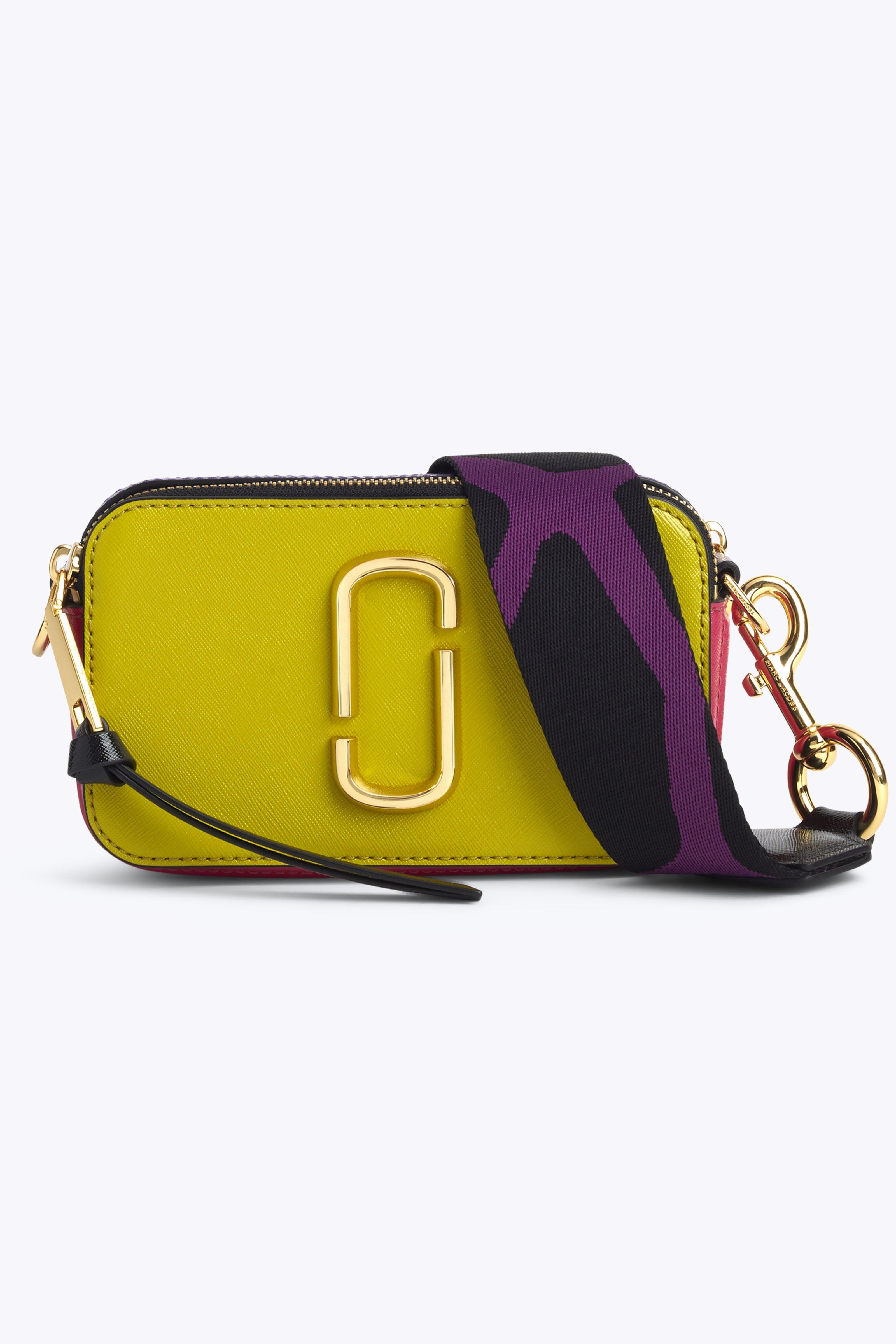 Snapshot Crossbody Bag - Green, Chartreuse Multi