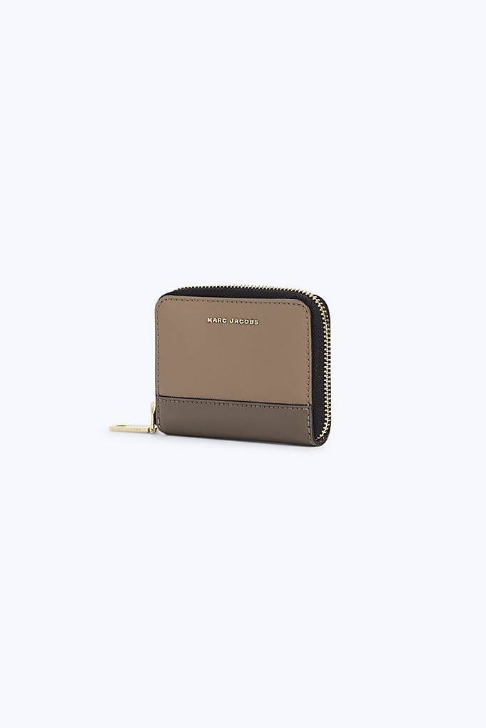 Saffiano Colorblocked Zip Card Case | Marc Jacobs