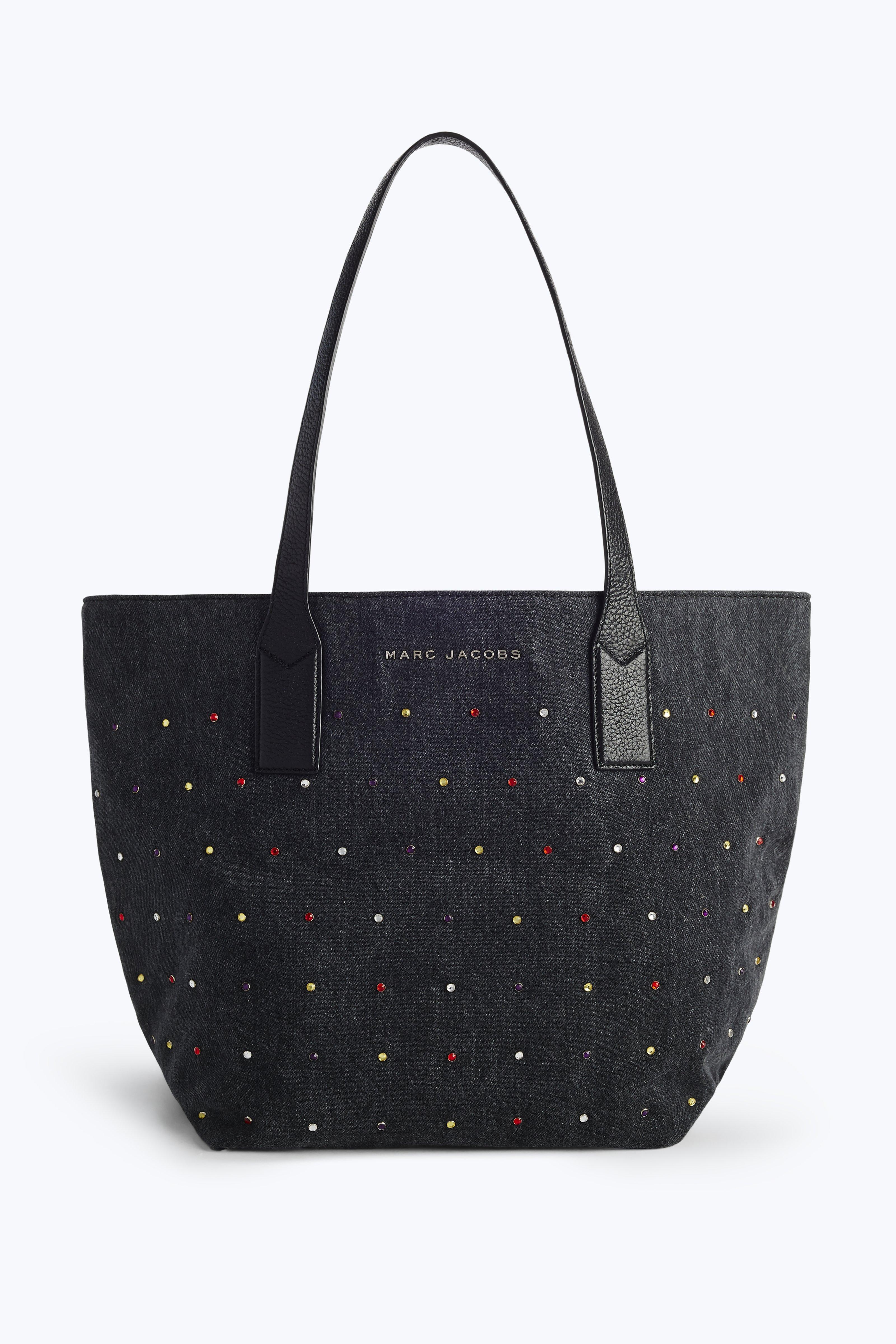 Marc Jacobs Totes Embellished Denim Wingman Tote