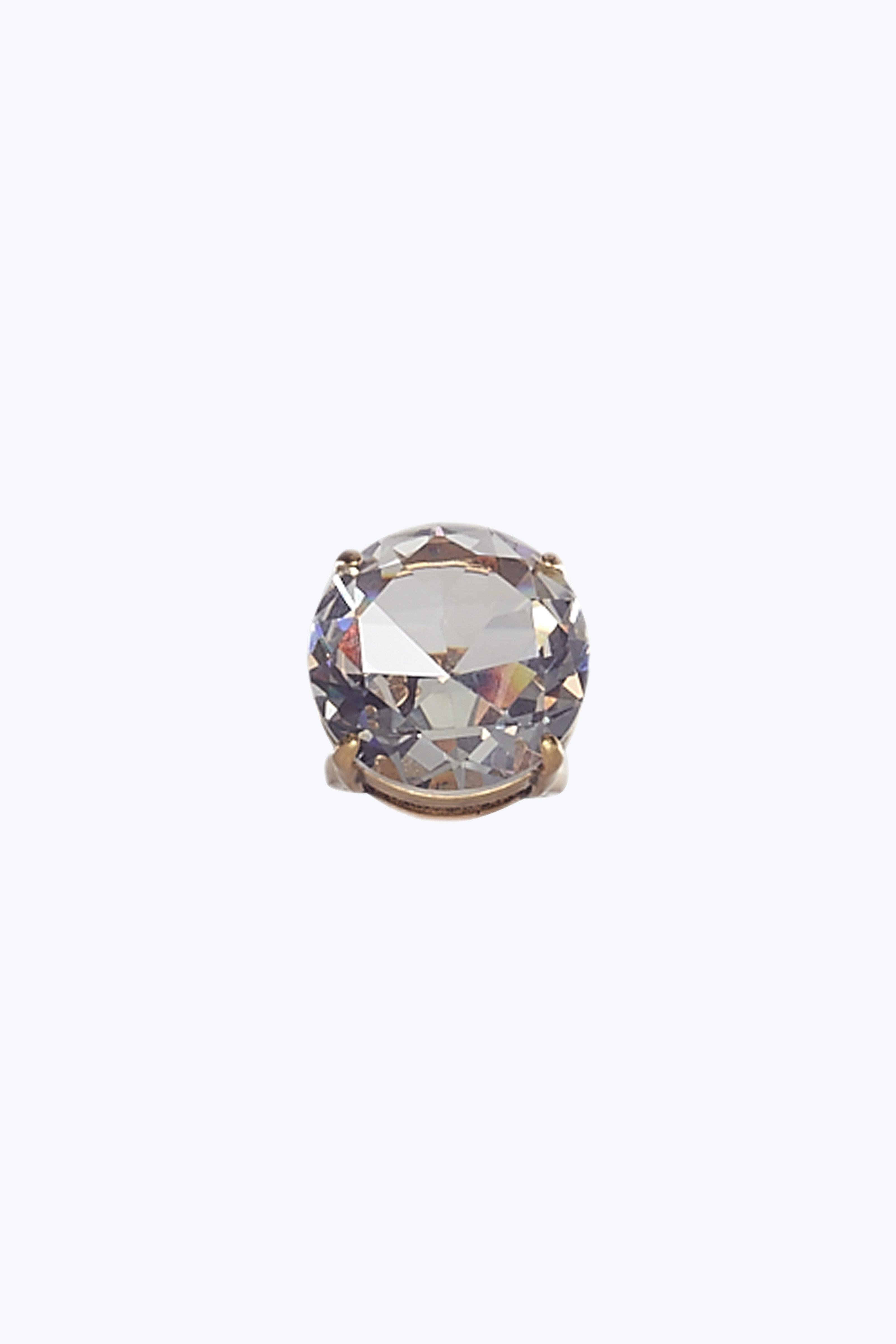 Marc Jacobs Rings Large Stone Crystal Cocktail Ring