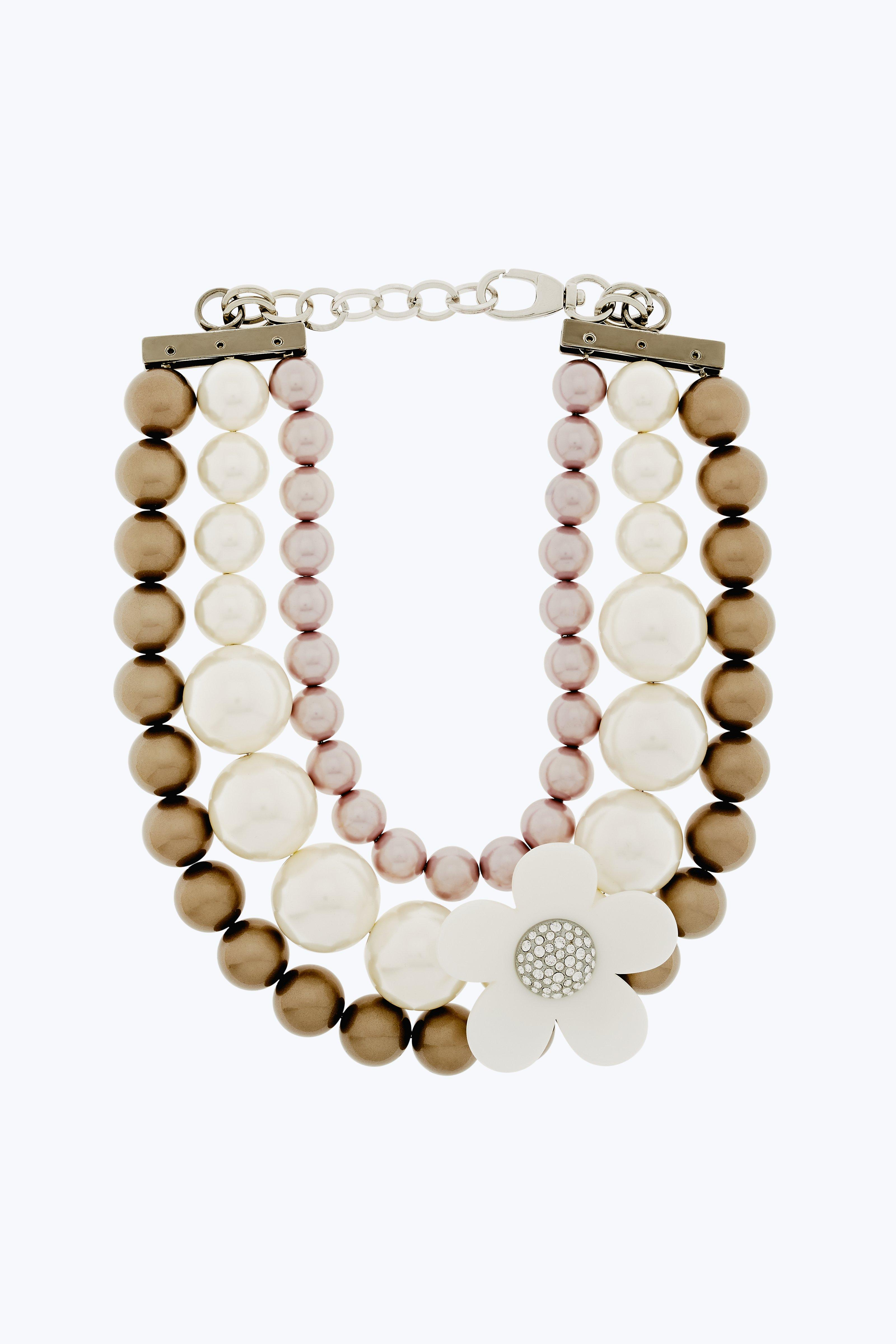 Marc Jacobs Necklaces Daisy Pearl Necklace