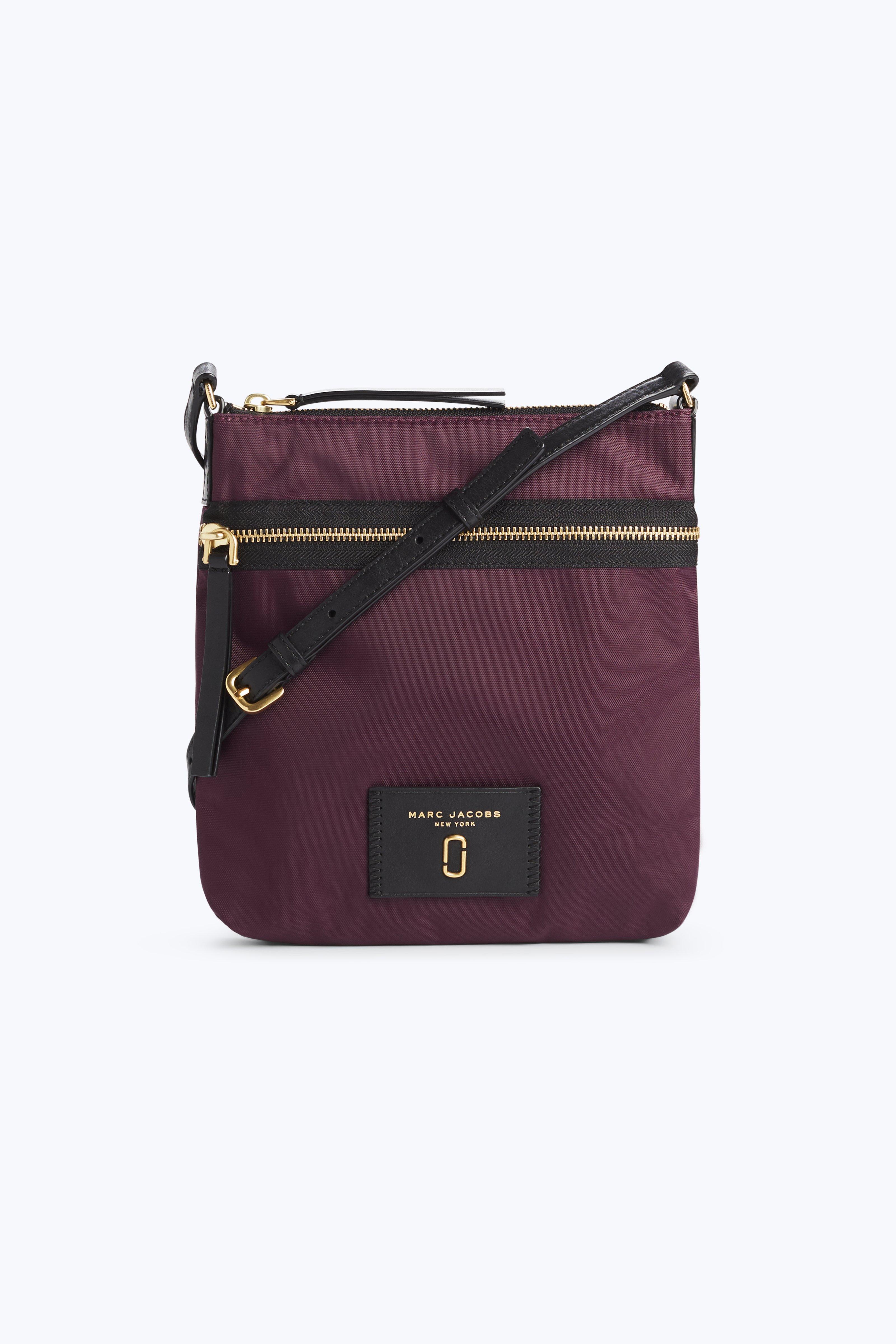 c2328738afa2 Marc Jacobs Nylon Biker Ns Crossbody Bag In Dark Violet