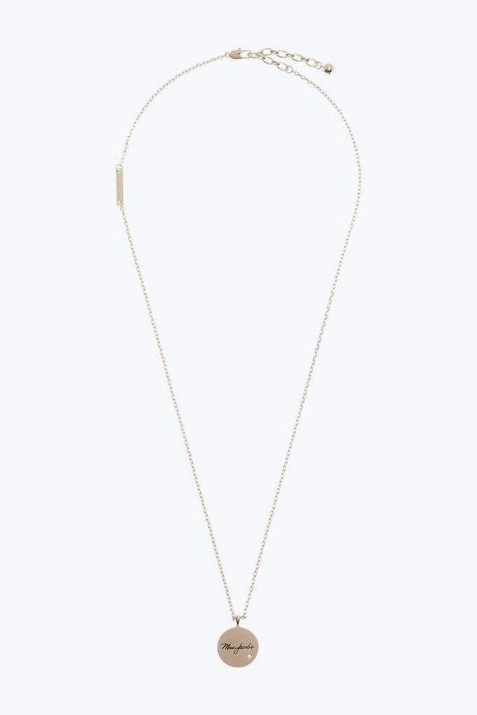 Marc Jacobs Necklaces, Yellow Gold, Brass, 2017, One Size