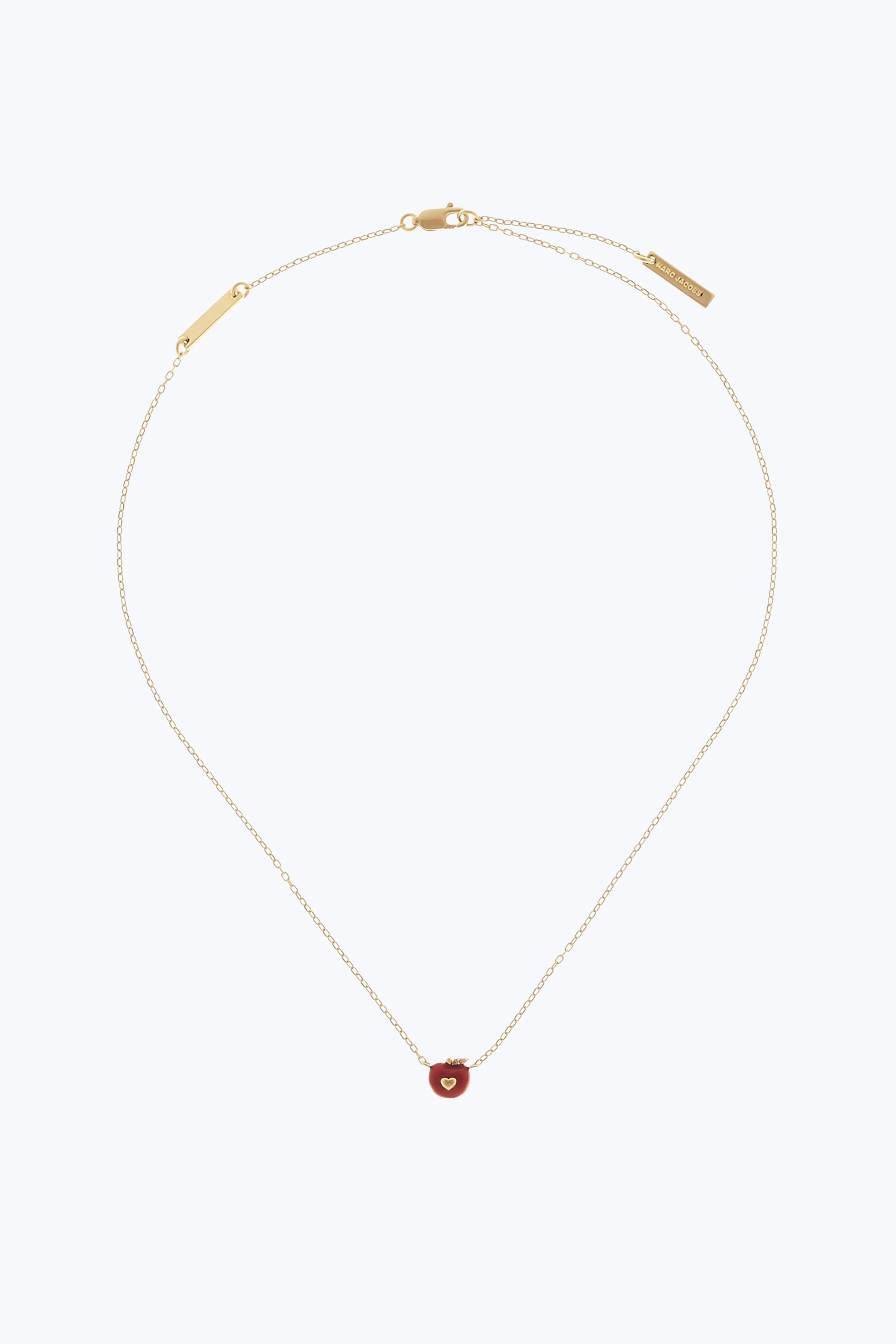 Necklaces, Gold, Stainless Steel, 2017, One Size Marc Jacobs