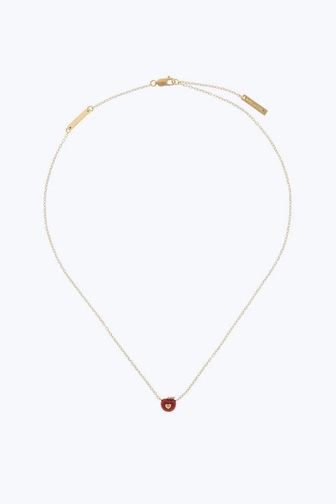 Marc Jacobs Necklaces, Gold, Stainless Steel, 2017, One Size