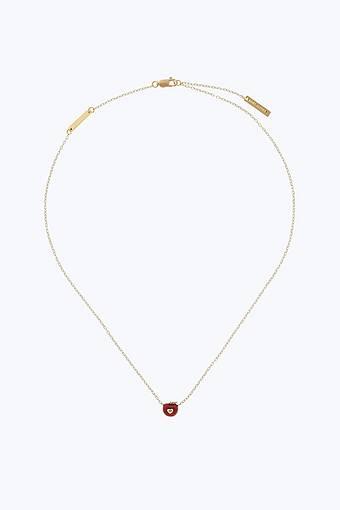 Apple pendant necklace marc jacobs apple pendant necklace aloadofball Images