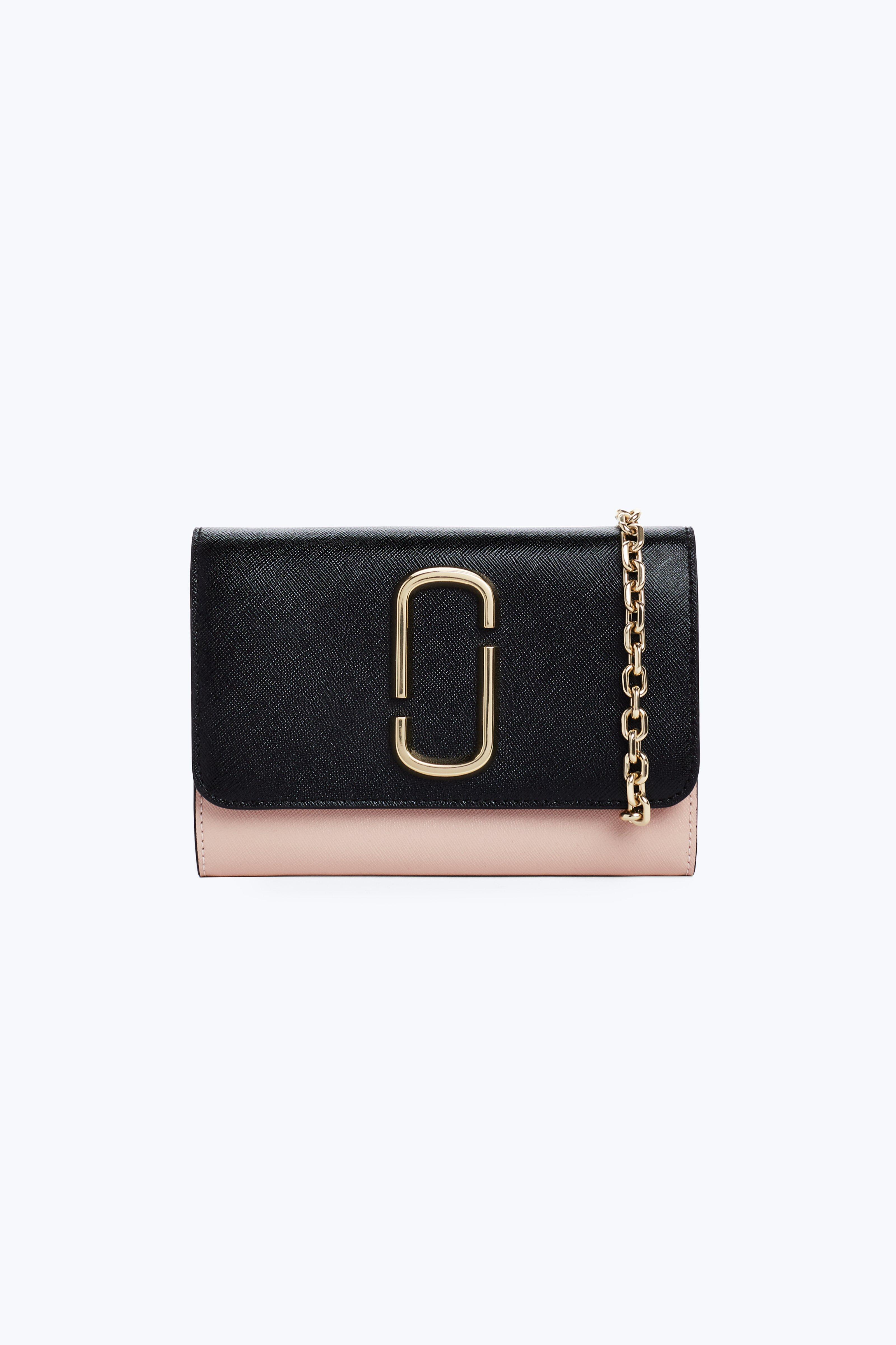 Wallet for Women On Sale, Black, Leather, 2017, One size Marc Jacobs