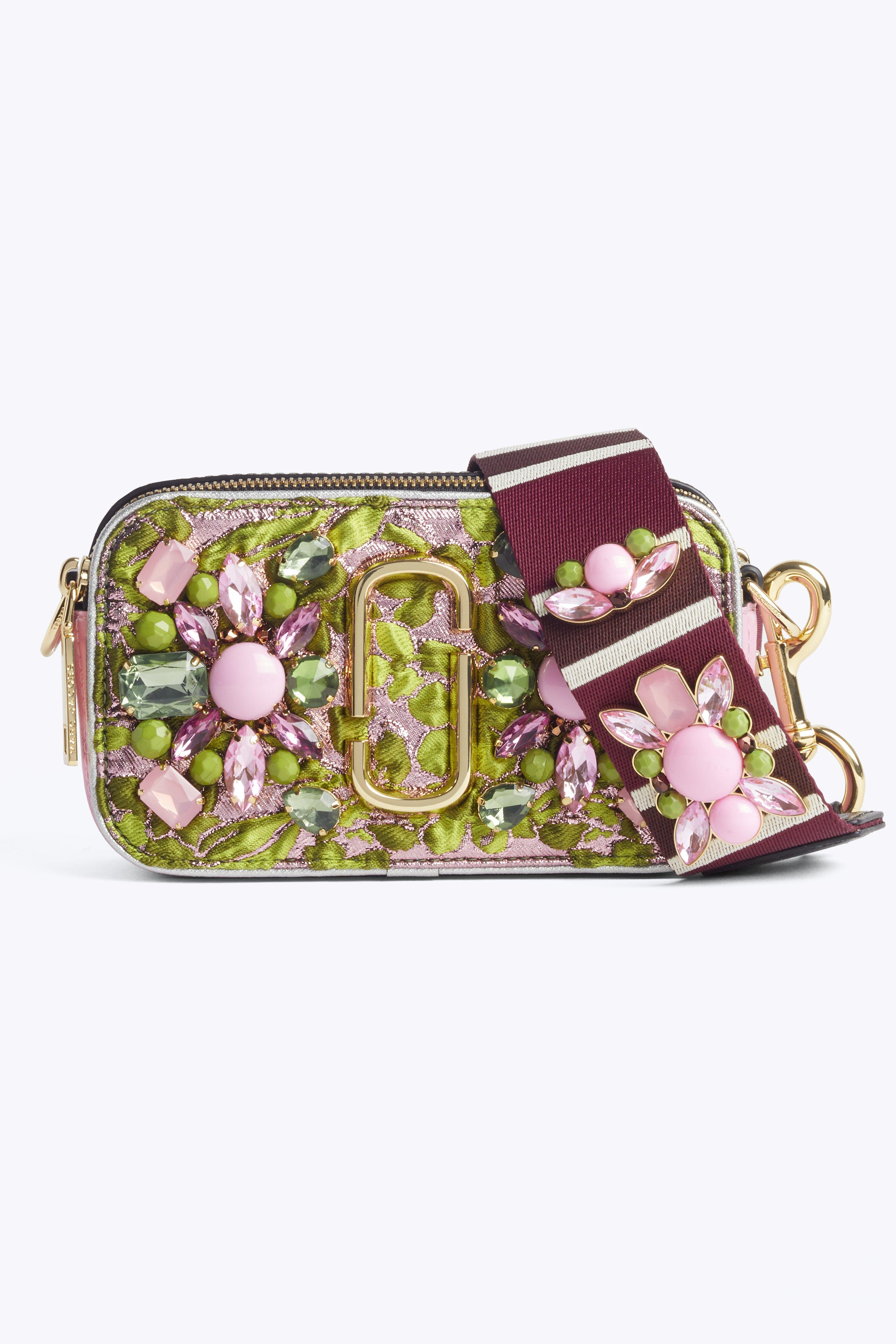 Marc Jacobs  Snapshot Floral Brocade Small Camera Bag