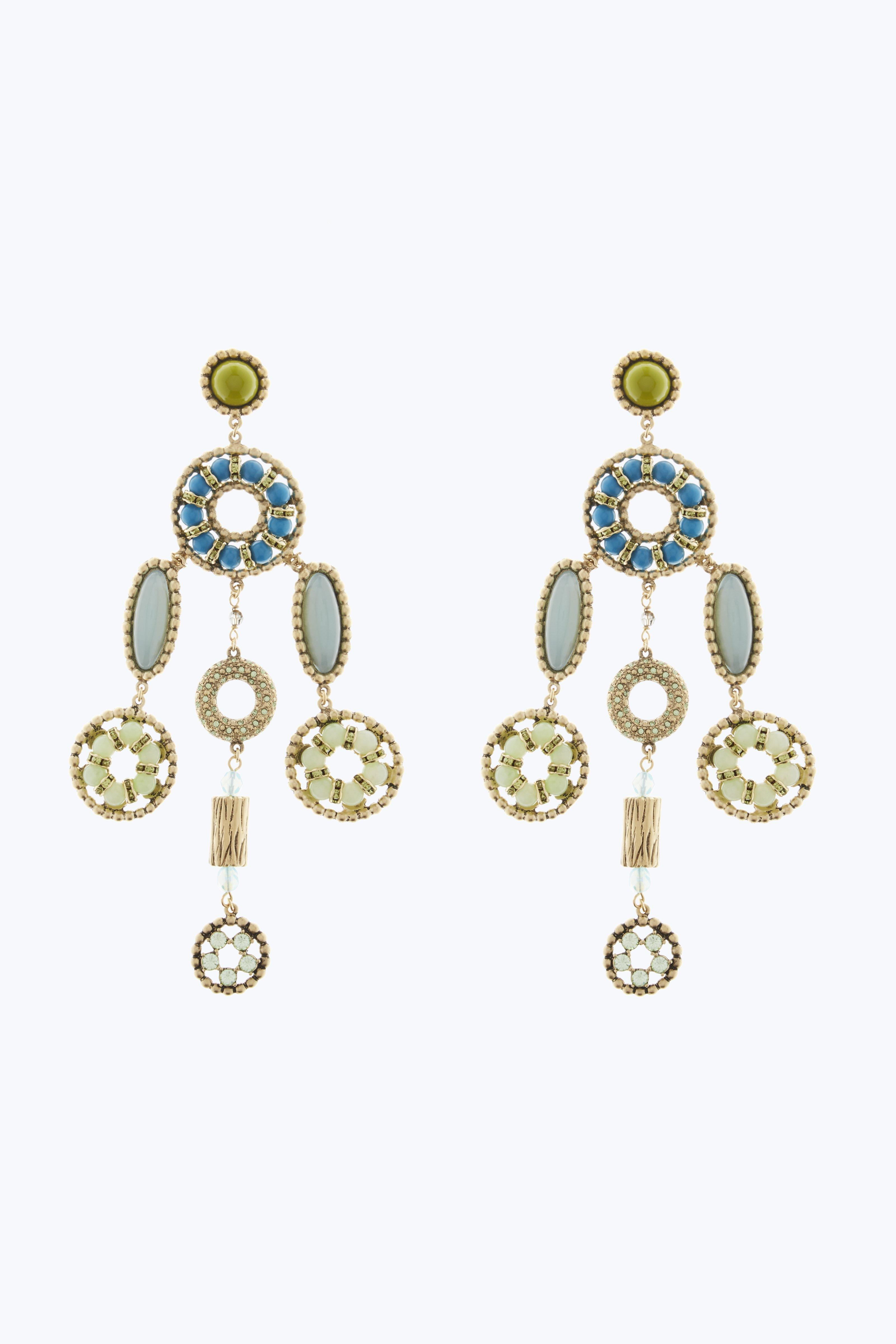 Marc Jacobs Crystal Jewelled Earrings D3pHc2