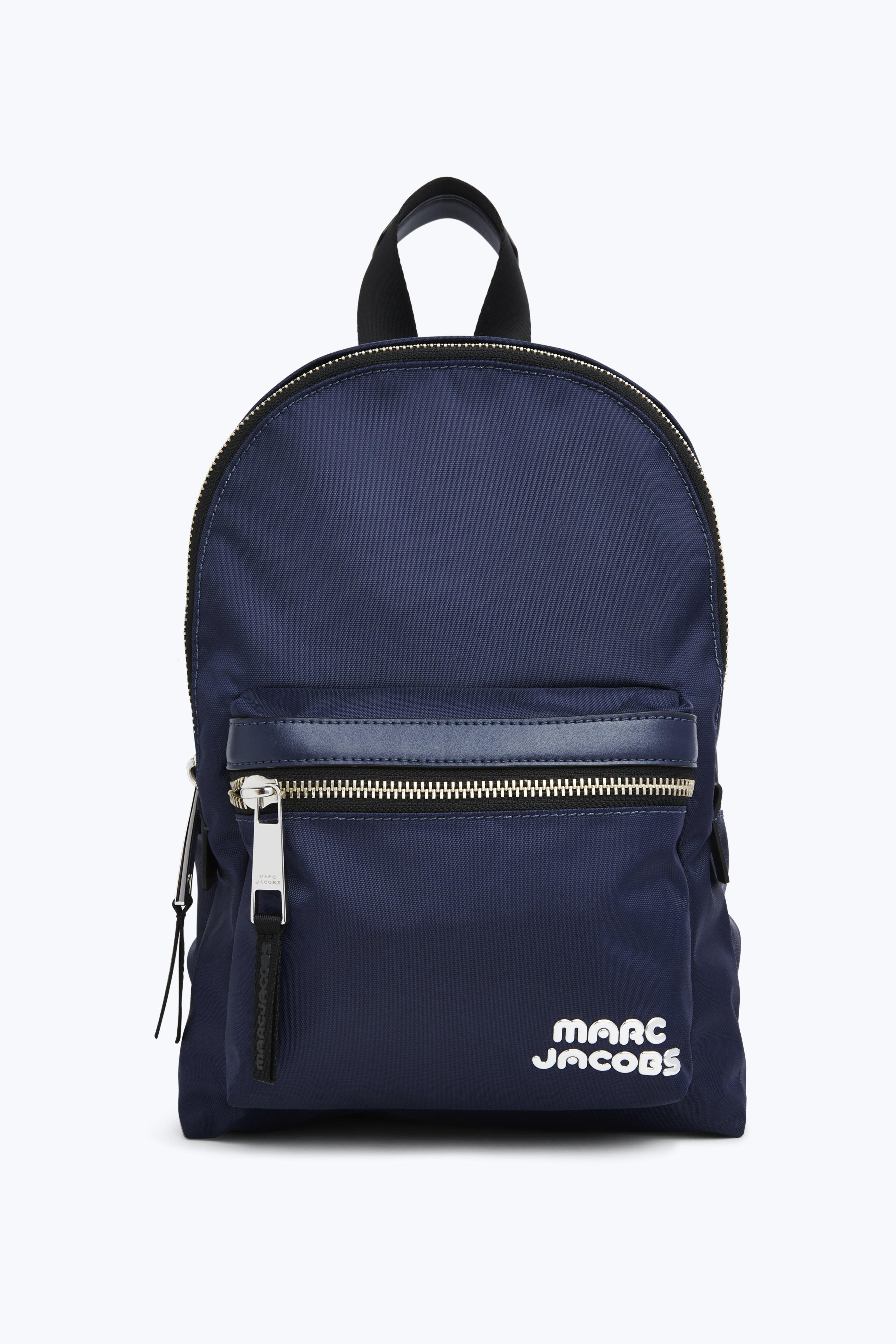 MARC JACOBS MIDNIGHT MEDIUM BACKPACK IN LEATHER