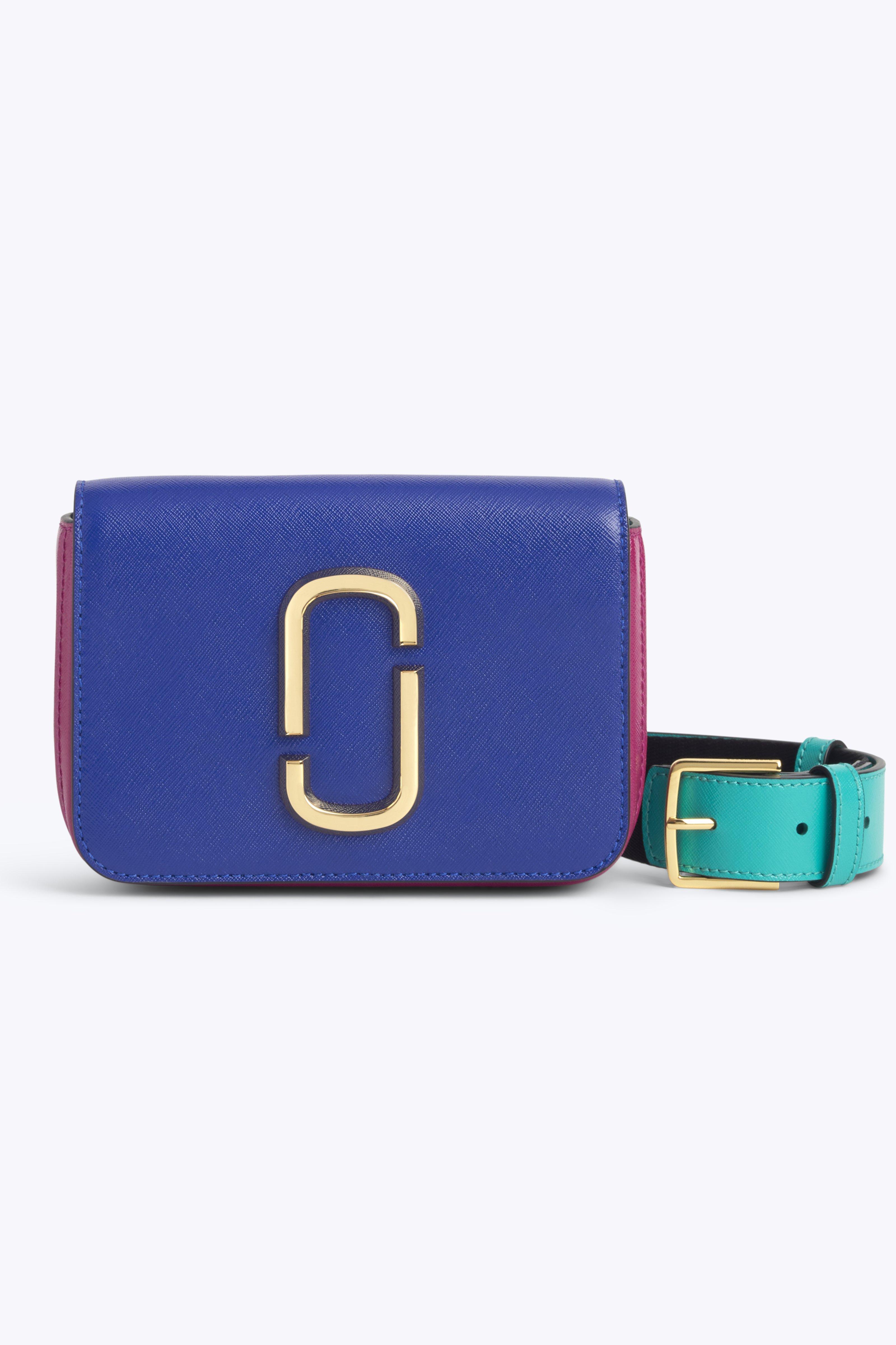 Hip Shot Convertible Crossbody Bag - Blue, Academy Blue Multi