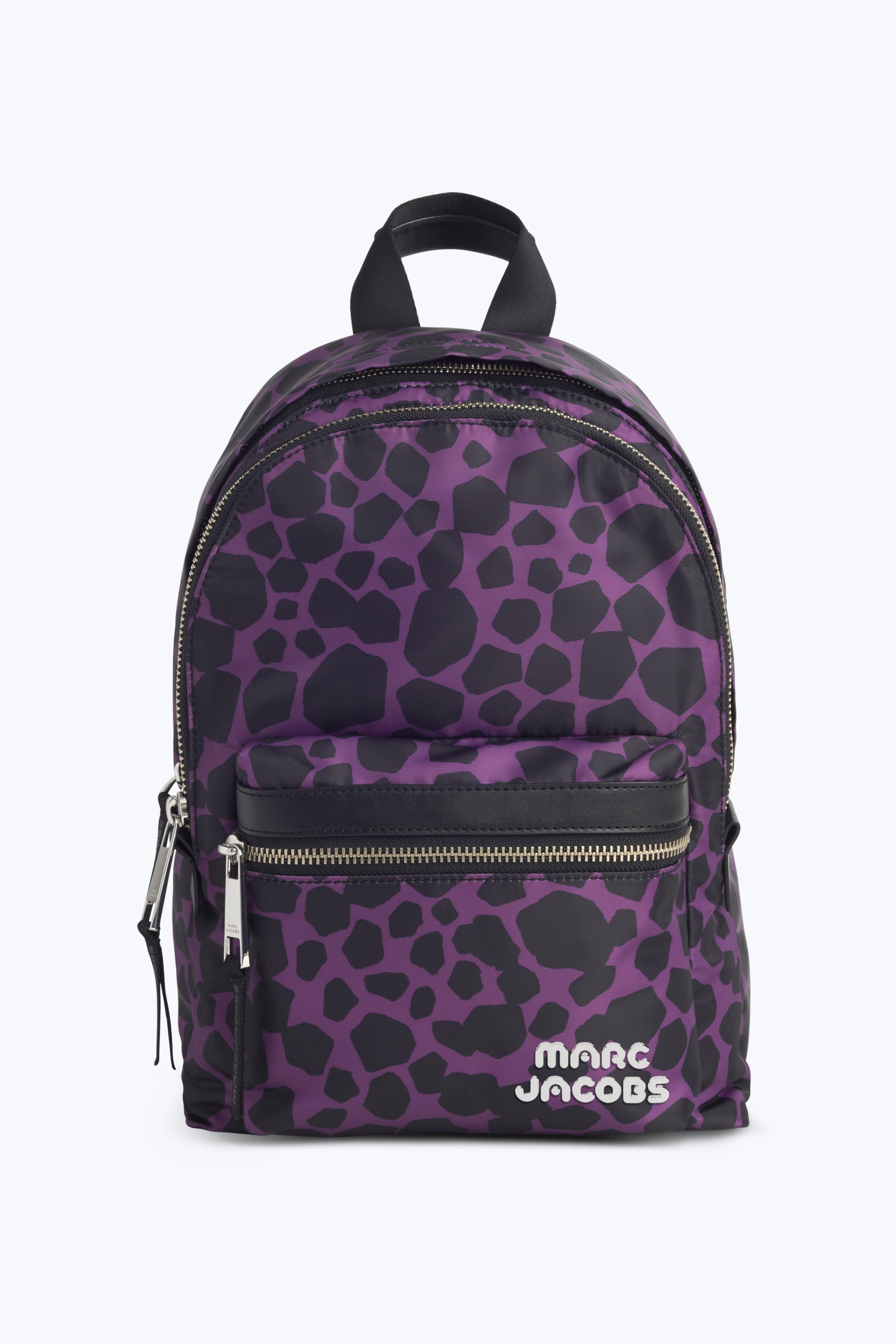 Trek Pack Sport Logo Medium Backpack In Pebbles, Berry Multi