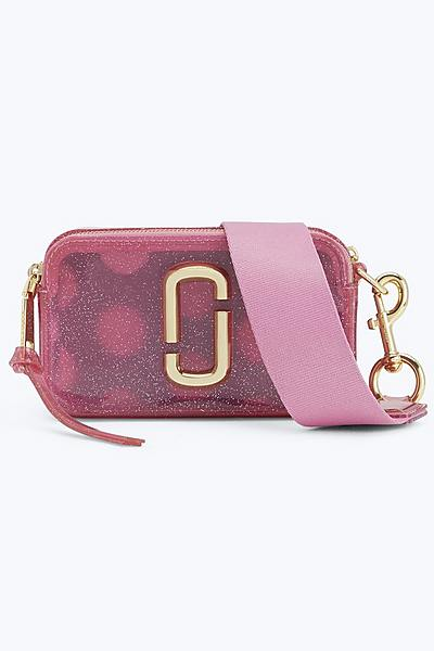 5ca3282d17ec Jelly Glitter Snapshot Small Camera Bag ...