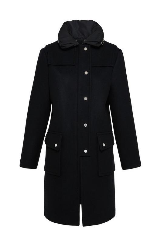 Norman Bonded Wool Techno Duffle Coat