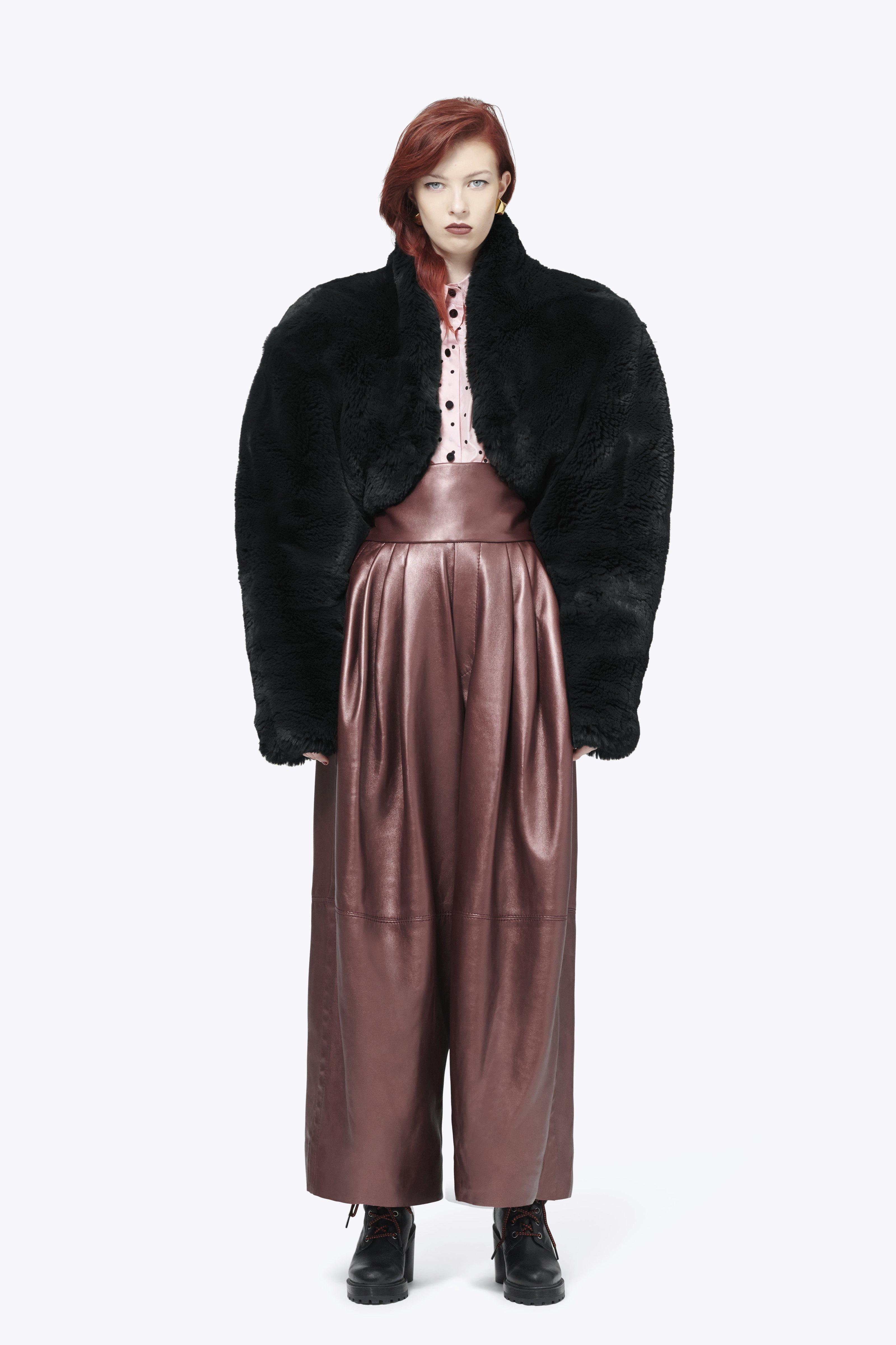 Plush Bolero Jacket