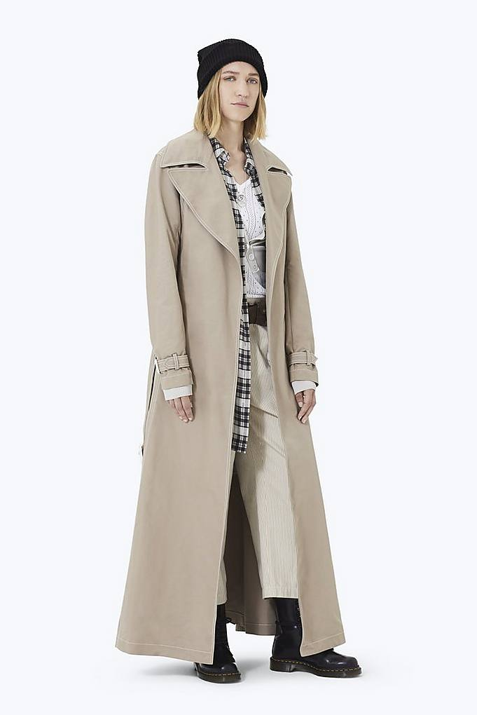 Marc Jacobs Coats Contrast Stitching Trench Coat