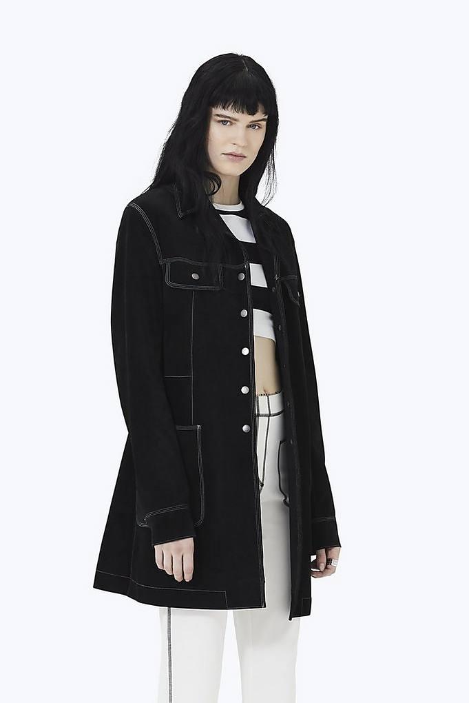 Marc Jacobs Coats Suede Overcoat