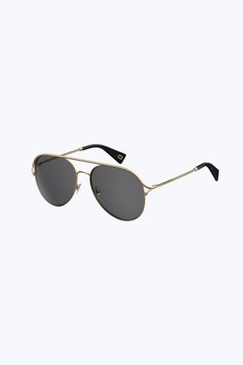 glasses online canada gace  Metal Twist Sunglasses