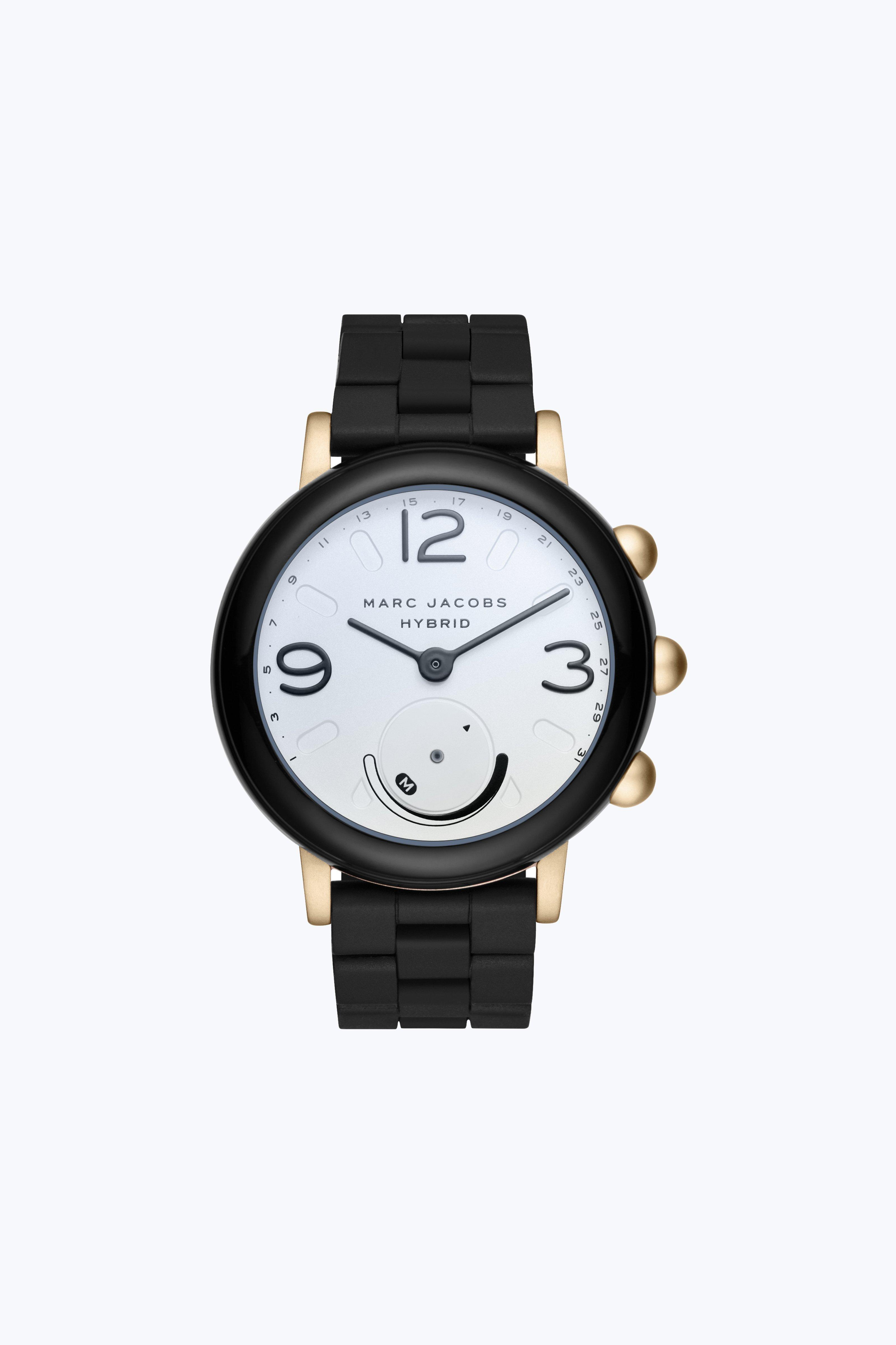 riley hybrid smartwatch blackgold