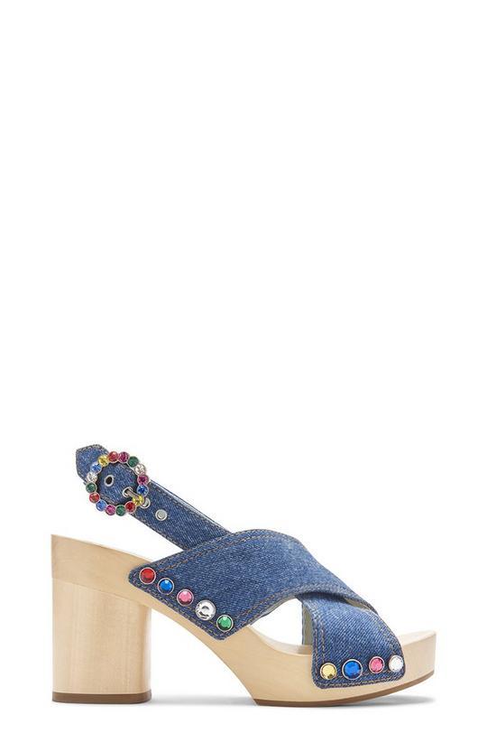 Linda Criss Cross Sandal Clog