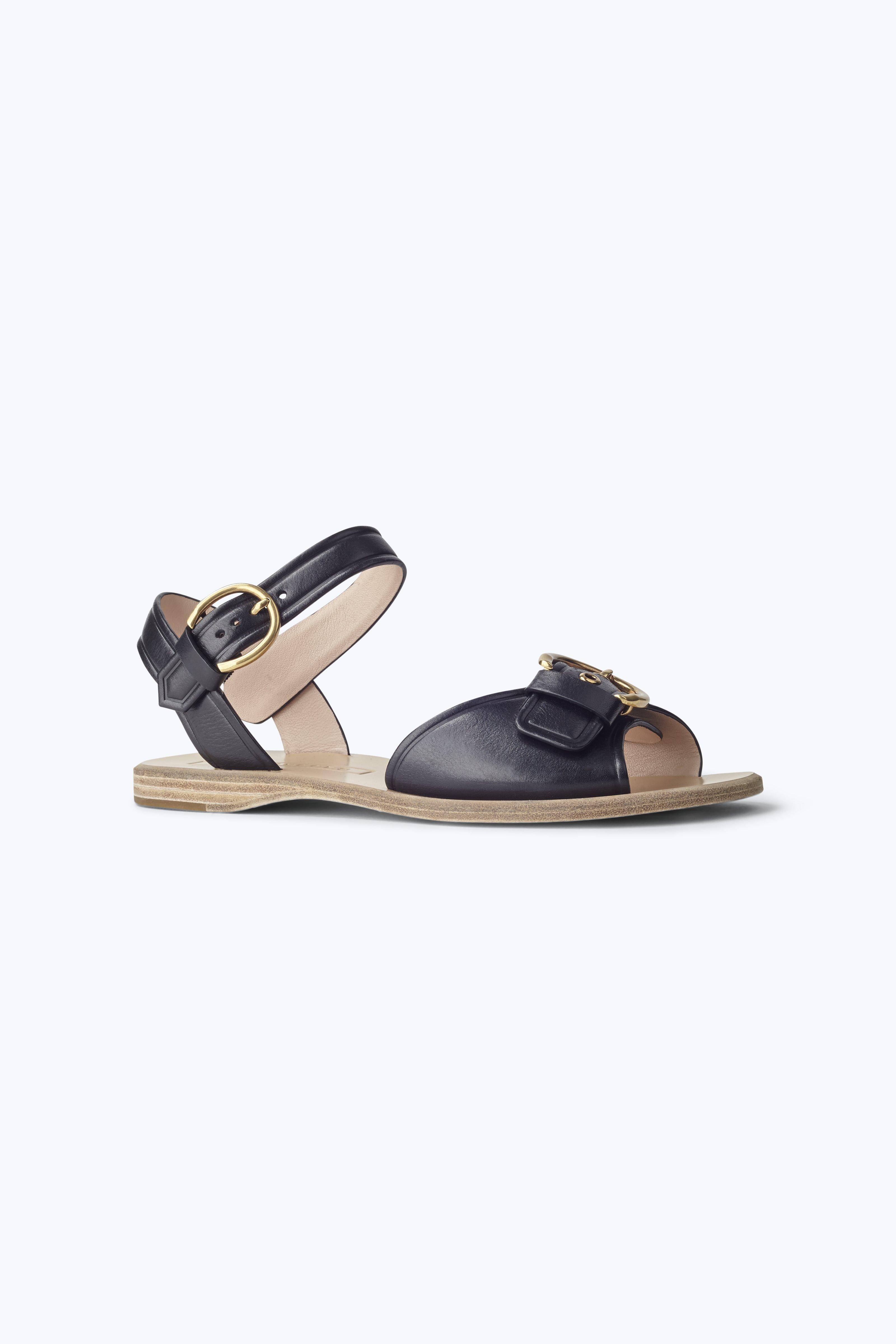 Lavender sandals shoes - Horizon Flat Sandal