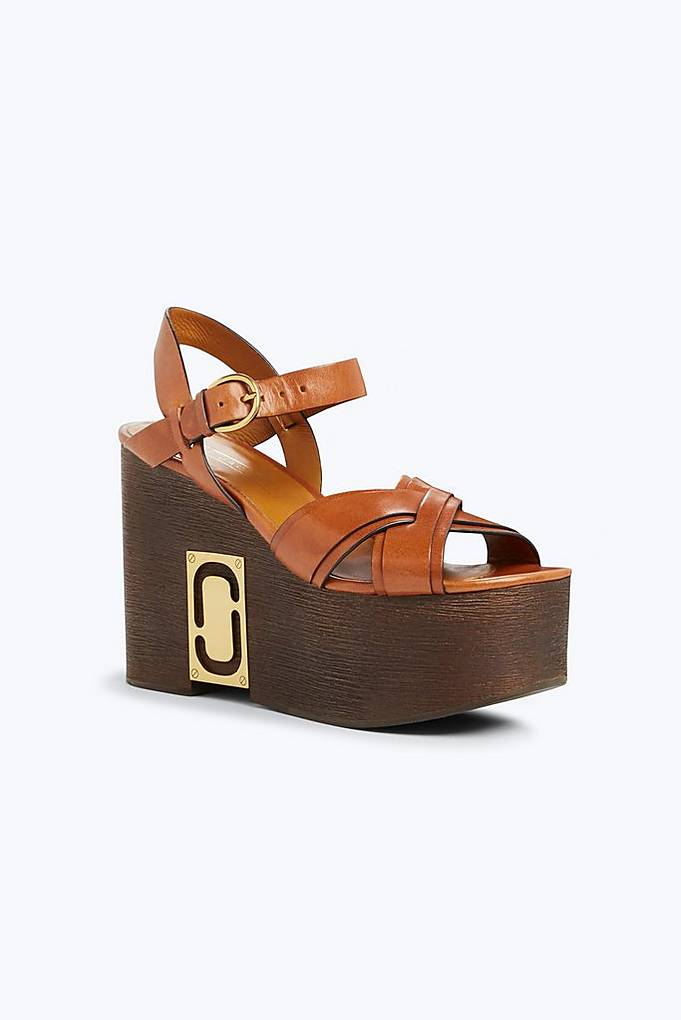 Marc Jacobs Paloma Status wedge sandals BFMJmrvM