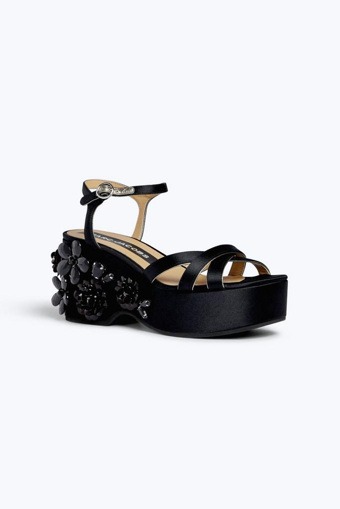 Callie Embellished Wedge Sandal Marc Jacobs