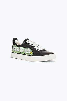 Love Embellished Empire Low Top Sneaker