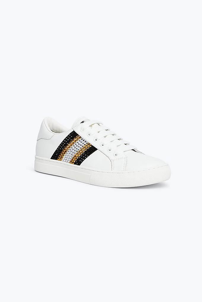 Bedazzled Stripe Empire Sneaker
