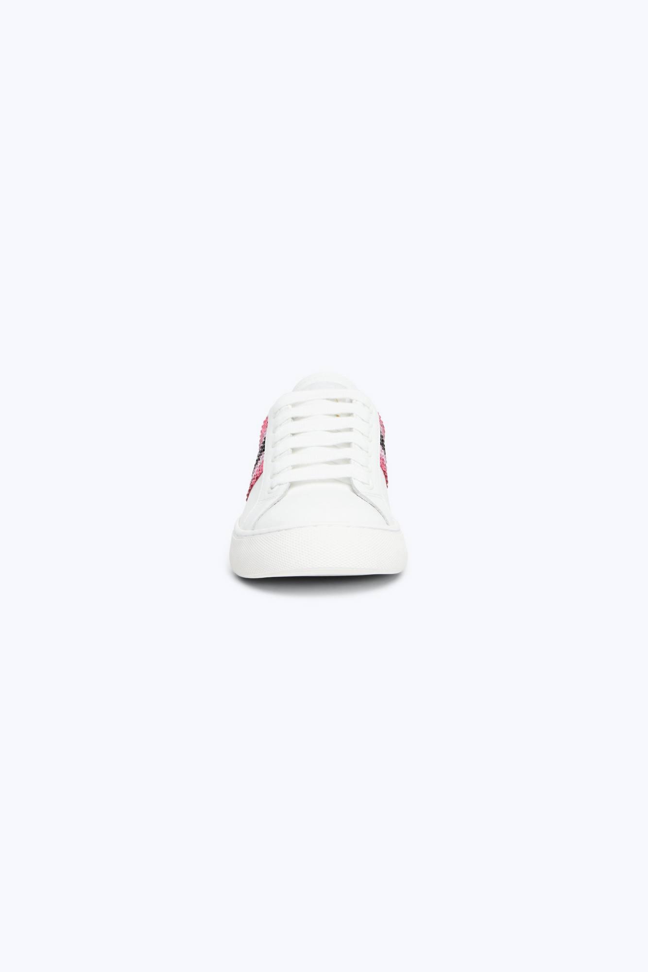 5321764c7cc322 Bedazzled Stripe Empire Sneaker